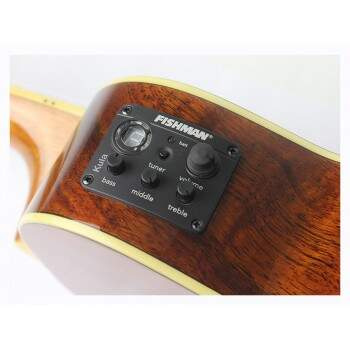 Ukulele Fender 0965653 Nohea Eletric021 Natural