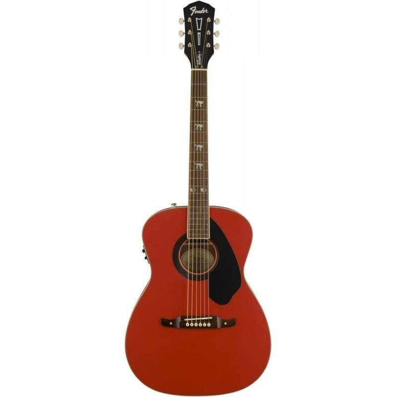 Violão Fender 0968300 Tim Armstrong Hellcat 054 Ruby Red