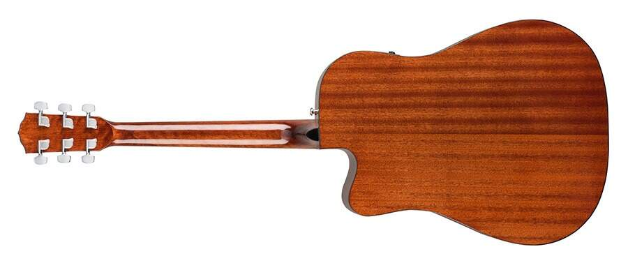 Violão Fender CD60 SCE 096 1705 021 All Mahogany