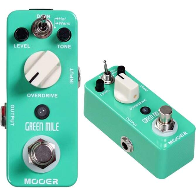 Pedal MOOER MMO Green Mile Over Drive
