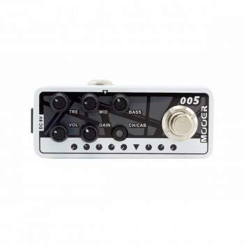 Pedal MOOER Pré-Amplificador Fifty Fifity 3
