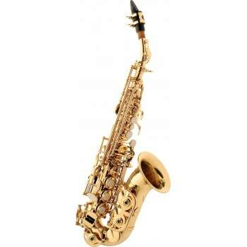 Sax Soprano Eagle SP508 Curvo C/ Case