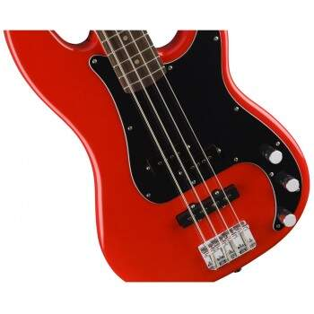 Contrabaixo Fender  031 0500 Squier Affinity PJ Bass 570 Racing Red.
