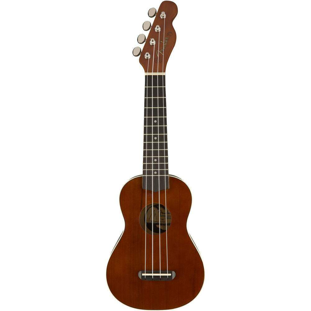 Ukulele fender 0971620 seaside soprano 522 NT.