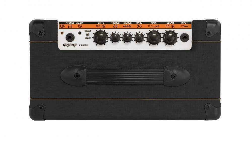 Amplificador Orange Guitarra Crush 20 Black