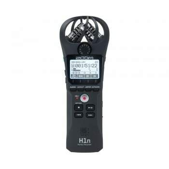 Gravador Zoom H1n Handy Recorder Black