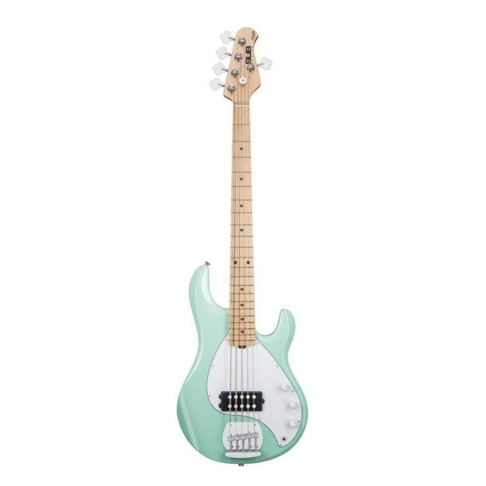 Contra Baixo Music Man Sterling Ray 5 Sub Mint Green