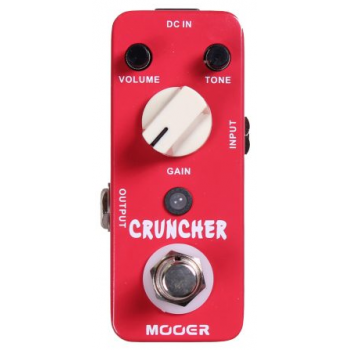 Pedal MOOER MCD Cruncher Distortion