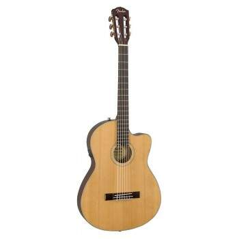 Violão Fender Thinline CN140 SCE 096 2714 221 Natural C/ Case