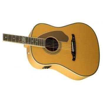 Violão Fender Dreadnought Ron Emory Loyalty 096 8550 999 Ash Butterscotch