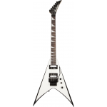 Guitarra Jackson King V 291 0123 JS32 577 White With Black Bevels