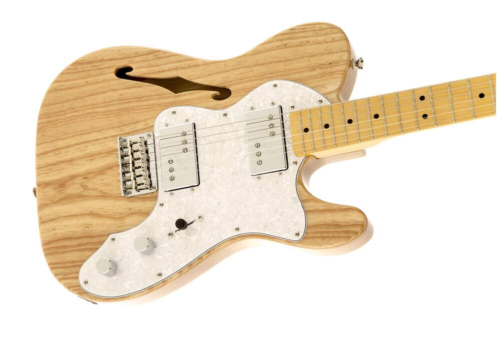 Guitarra Fender 030 1280 Squier Vintage Modified Telecaster Thinline 72S 521 Natural