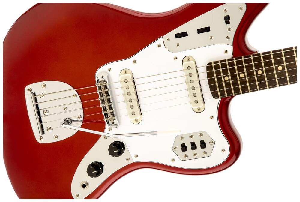 Guitarra Fender 030 2000 Squier Vintage Modified Jaguar 509 Candy Apple Red