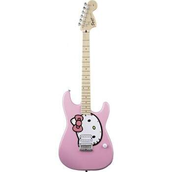 Guitarra Fender Squier Hello Kitty Stratocaster 033 5005 Showroom
