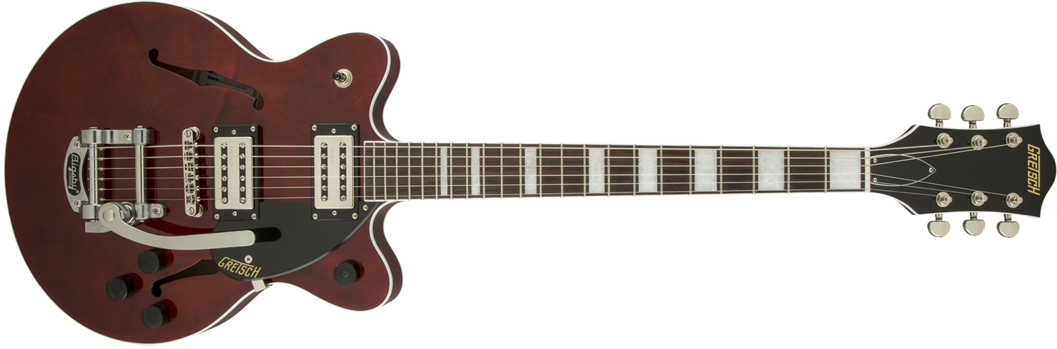 GUITARRA GRETSCH 280 0400 517 G2655T JR CBLOCK  WALNUT STAIN