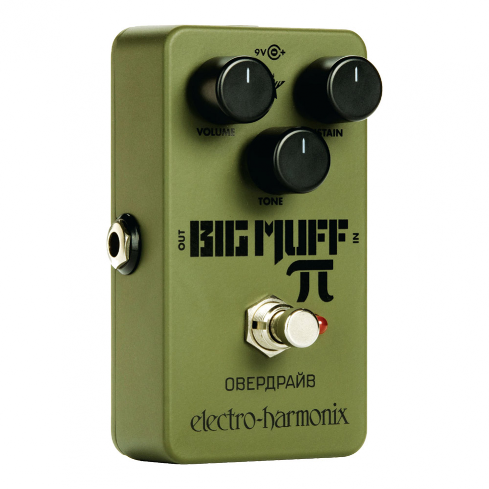 PEDAL ELECTRO-HARMONIX GREEN RUSSIAN BIG MUFF DISTORTION