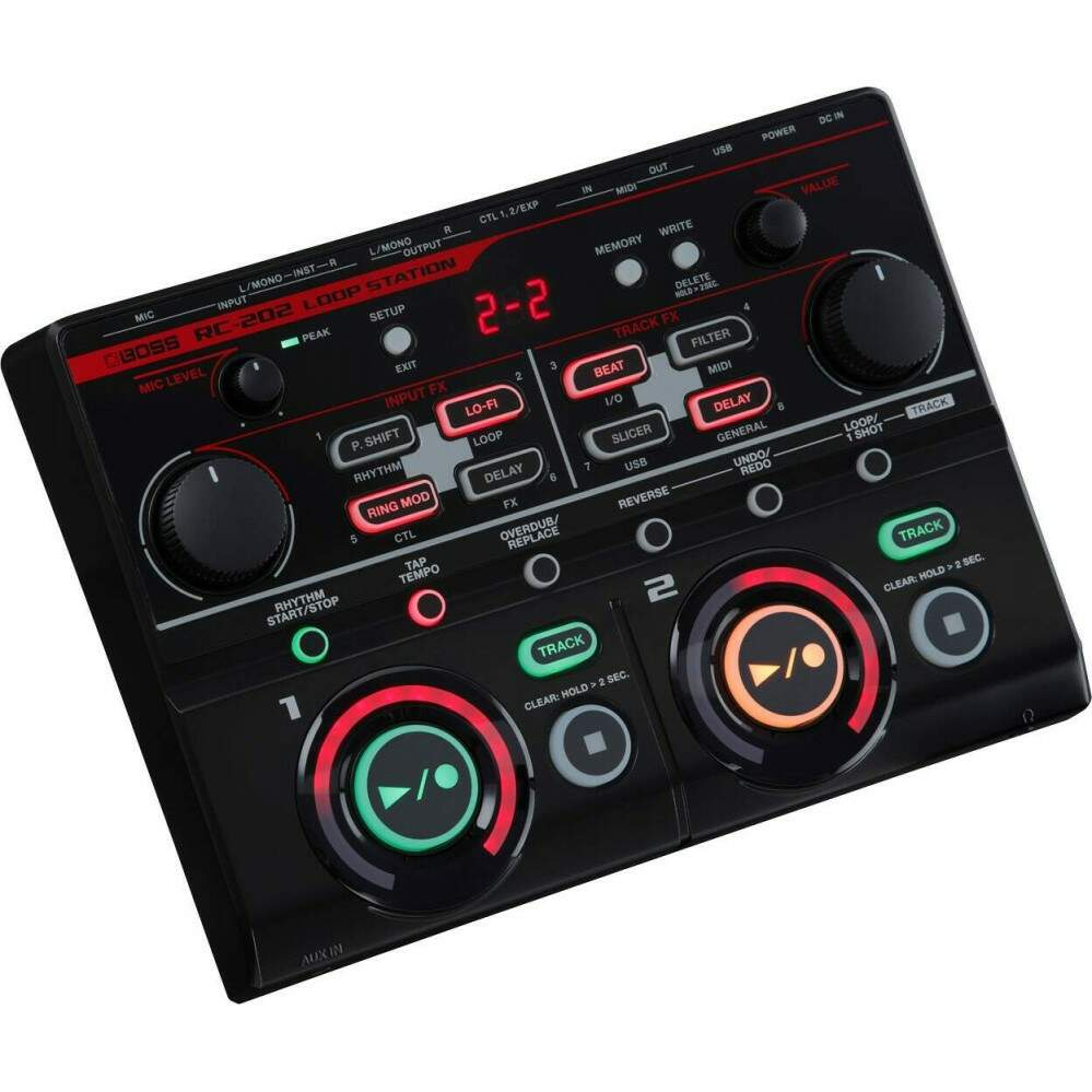 Pedal Boss RC202 Loopstation