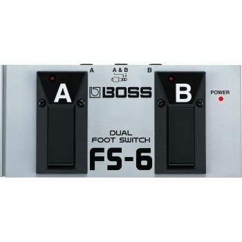 Pedal Boss FS6 Dual Footswitch