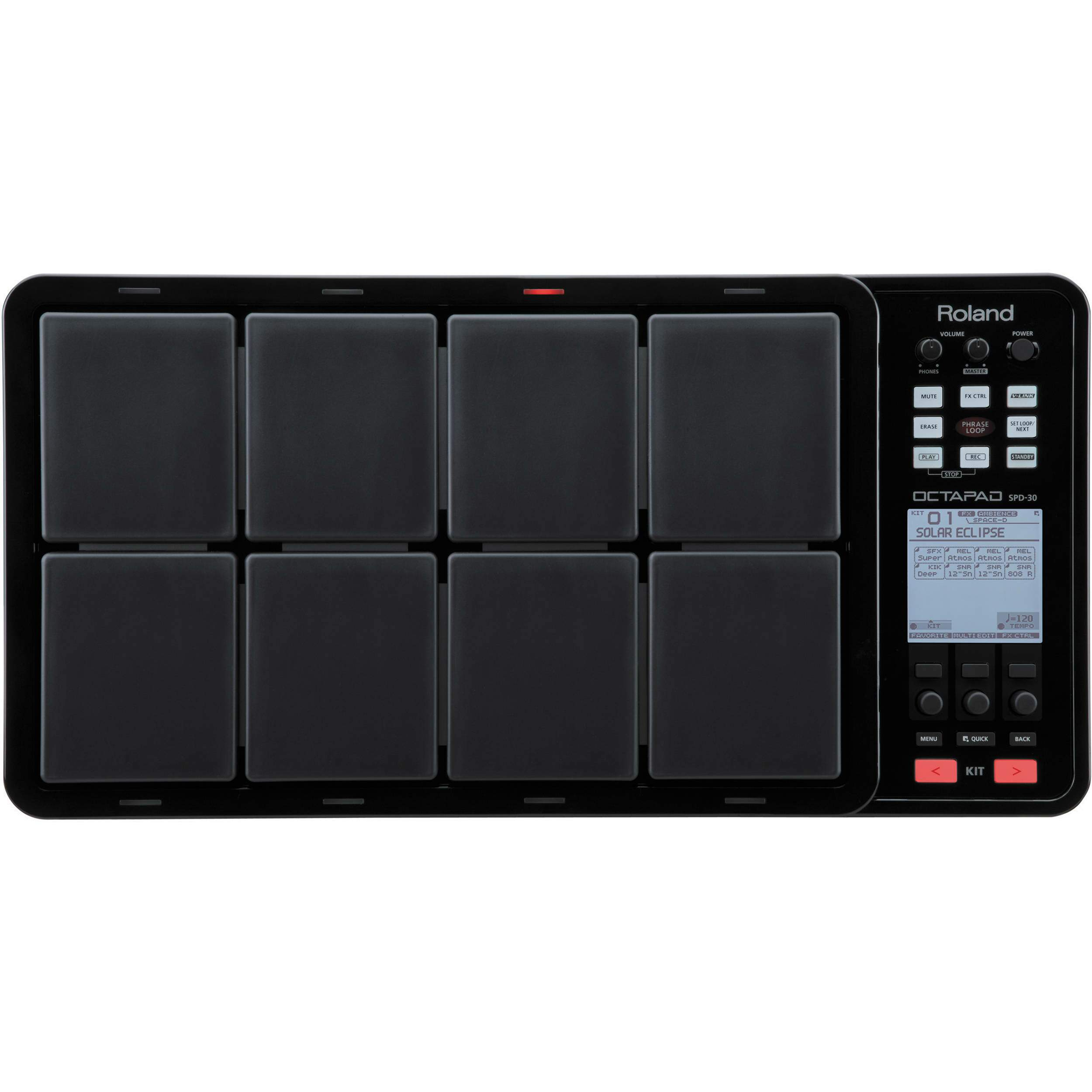 Pad Digital Roland SPD30 Preto