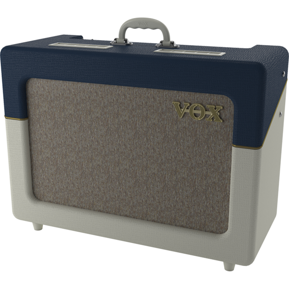 COMBO VOX AC15C1-TV-BC LTD EDITION - BLUE AND CREAM