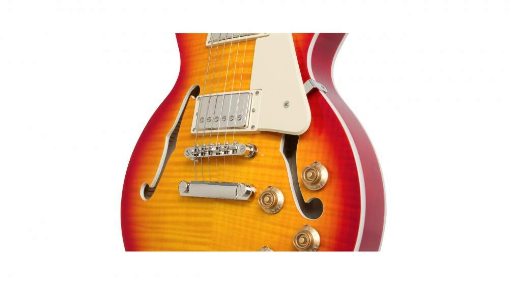 GUITARRA ELET EPIPHONE LP ES PRO - FADED CHERRY SUNBURST