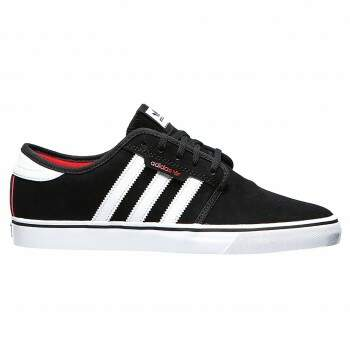 Tênis Adidas Skateboard Seeley Black White