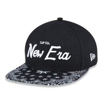Boné New Era 9Fifty OF Snapback Branded Preto