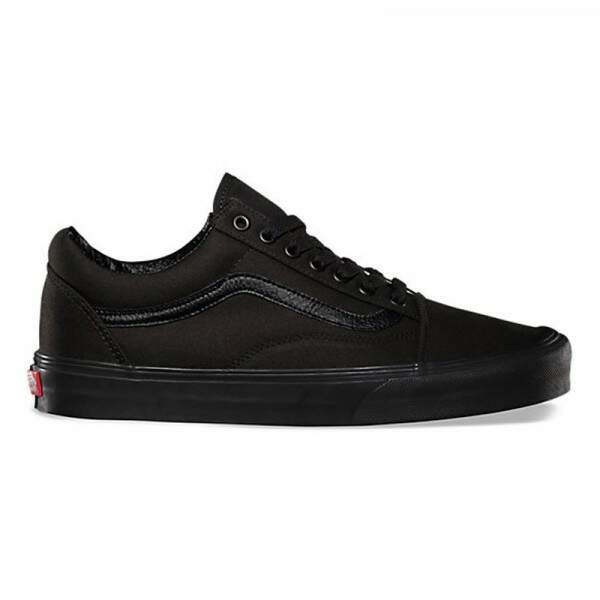 Tênis Vans Old Skool Canvas Black Black