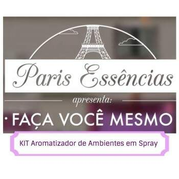 724 - KIT Aromatizador de Ambientes em Spray