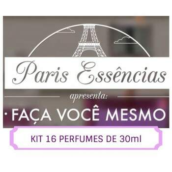 Kit 60 essências 30ml