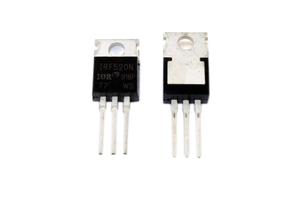 TRANSISTOR IRF520 CANAL N MOSFET TO-220