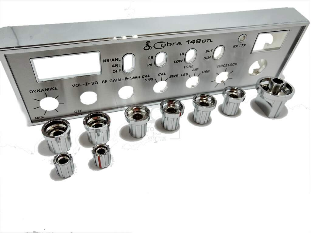 Frente Completa Cobra 148 Gtl + Knobs Original