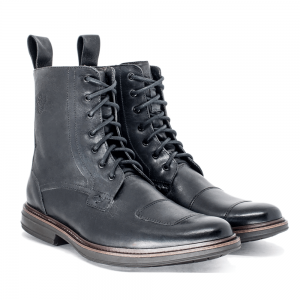BOTA BLACK BOOTS CYCLE SEMICROMO PRETO