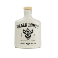 POCKET BOTTLE  BLACK BOOTS BRANCO