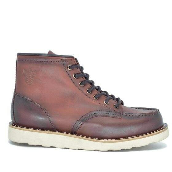 BOTA BLACK BOOTS MOC TOE WC LATEGO PINHÃO  DESTROYER