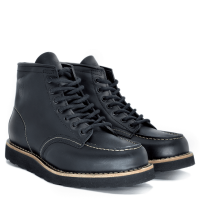 BOTA BLACK BOOTS  MOC TOE WC PRETO SP