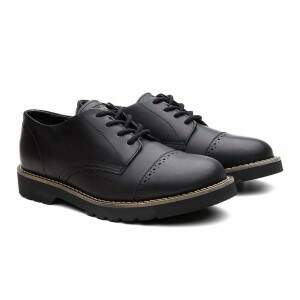 SAPATO COMBAT LONDON OX PRETO