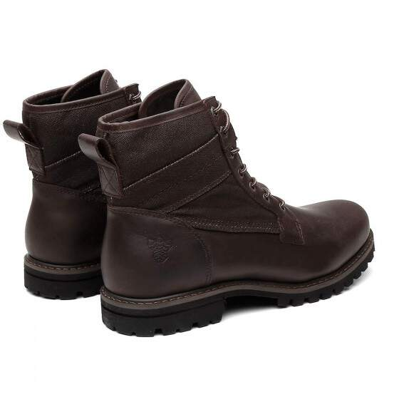 BOTA BLACK BOOTS LOGAN CRAZY BROW
