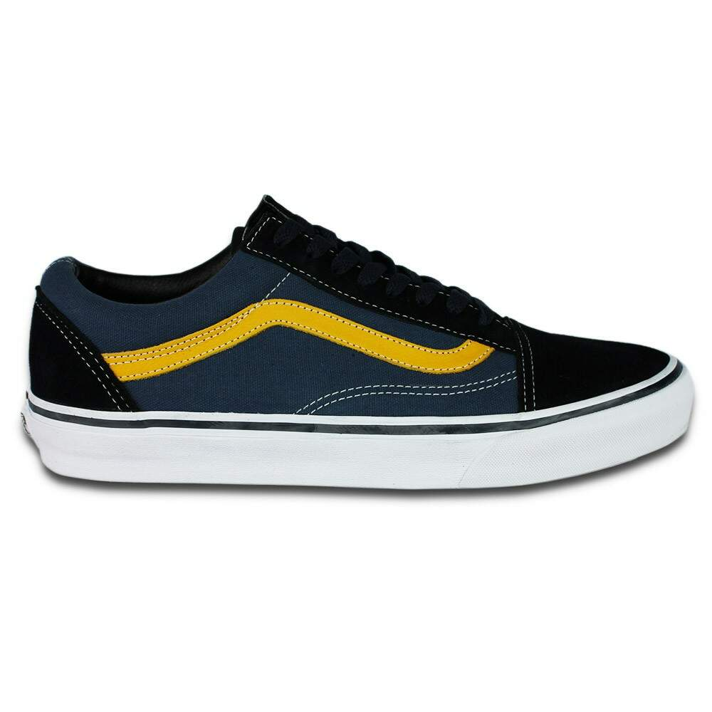 2da05c72d7d Tênis Vans Old Skool Total Eclipse Golden Rod ...