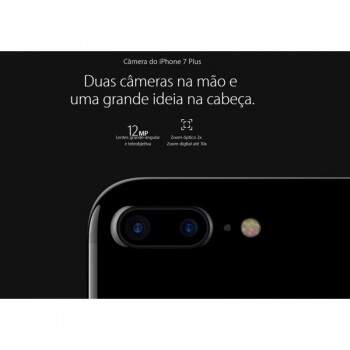"iPhone 7 Plus 128GB Tela HD 5.5\"" MN4M2BZ/A Preto Matte"