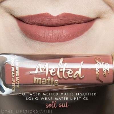 Mini Melted Matte Sell Out TOO FACED