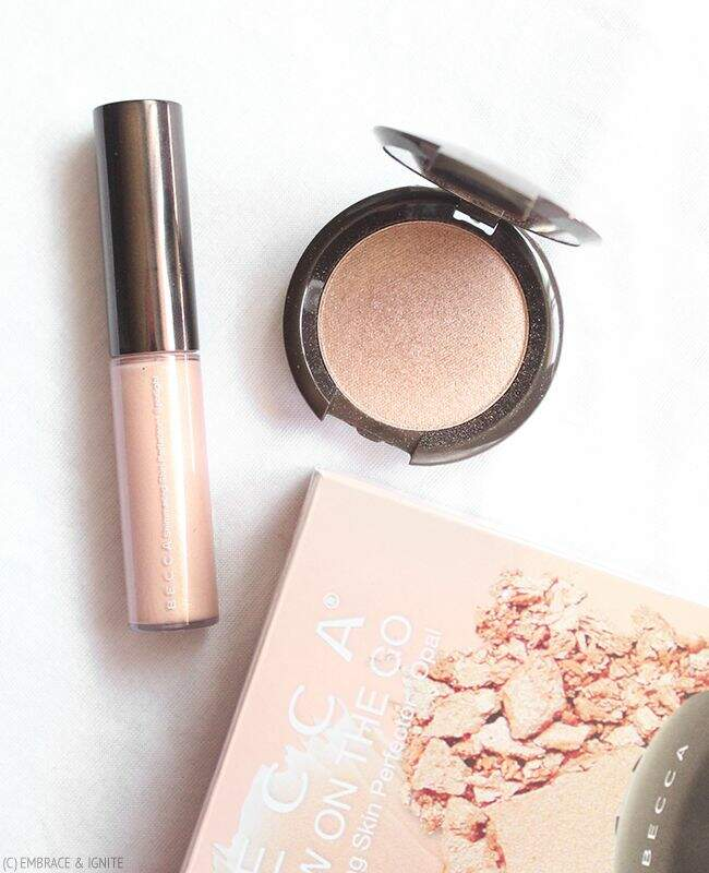 Kit Glow On the Go  Champagne Pop BECCA