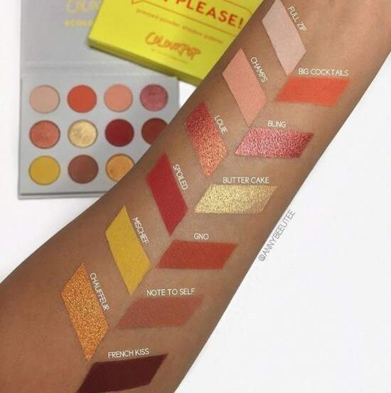 Paleta Yes, Please! COLOURPOP