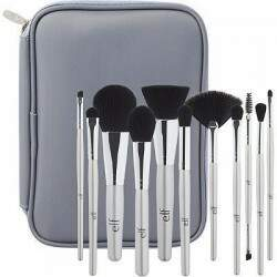 Kit Silver 11 Piece Brush Collection ELF