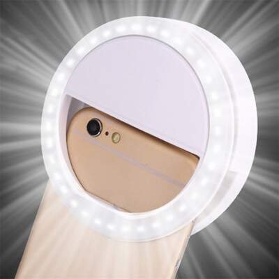 Selfie Ring Light RECARREGÁVEL