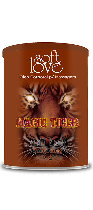 MAGIC TIGER OLEO CORPORAL PARA MASSAGEM