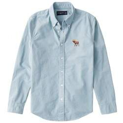 Camisa Jeans Abercrombie Masculina