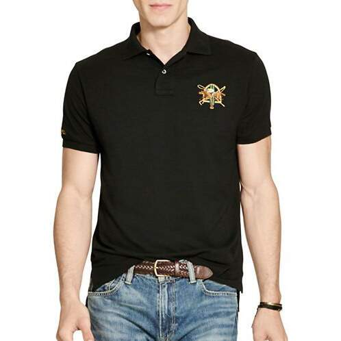 154c36701250d Camisa Polo Ralph Lauren - Preto - Custom Fit - Original