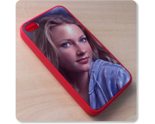 Case para Iphone 4 para personalizar com transfer sublimatico (2D)