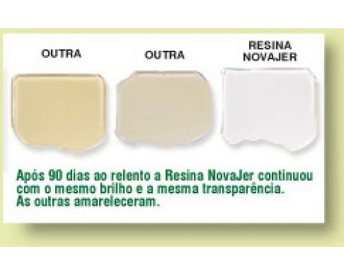 Resina Epoxi Rigida NJ0200 Novajer +  Endurecedor NJ0300